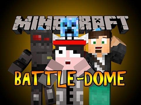 Minecraft: Battle-Dome - w/ PocketIsland, Graser and NoBoom!
