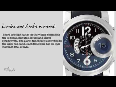 Graham Swordfish GMT Alarm 676 Watch