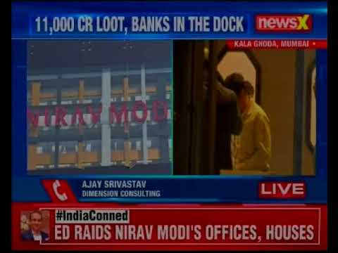 ED raids multiple locations across Mumbai, Delhi and Surat at Nirav's Modi residence