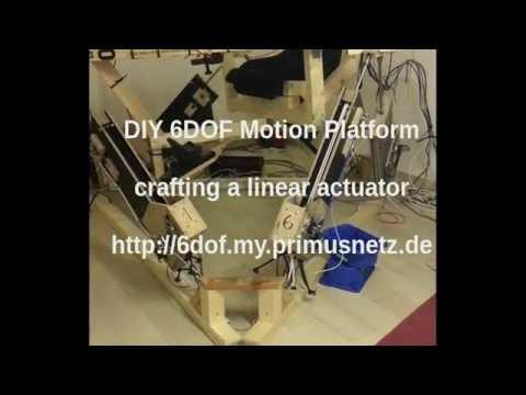 DIY Linear Actuator Assembly Part 1
