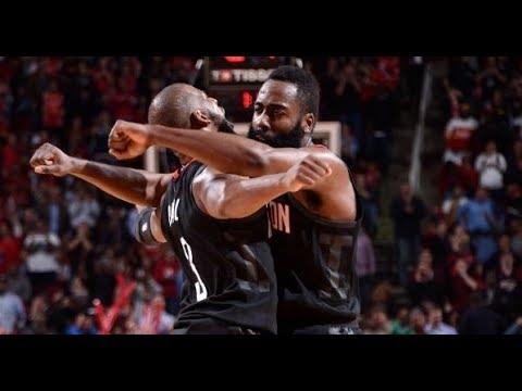 The Houston Rockets' Comeback Win vs. the Pelicans   December 11, 2017