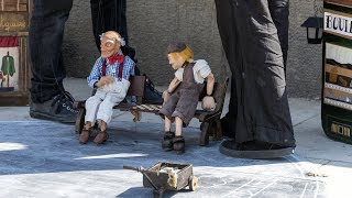 Top 10 AMAZING Street Puppet Performers Compilation (2018)