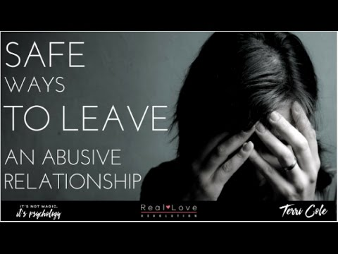 How to safely leave an abusive relationship - Terri Cole - Real Love Revolution 2017
