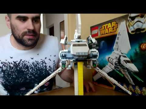 02# Lego Star Wars Imperial Shuttle Tydirium bemutató / elemzés