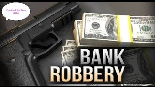 Bank robbery in India || live bank loot || CCTV Footage of bank robbery ||