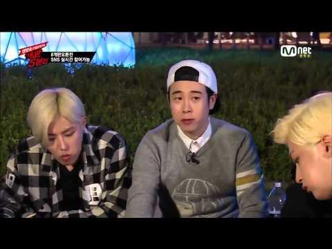 Block B - 5 Mins Before Chaos [CUT] - Eating Chicken & Karaoke