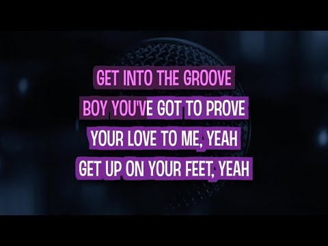 Into The Groove Karaoke Version by Madonna (Video with Lyrics)