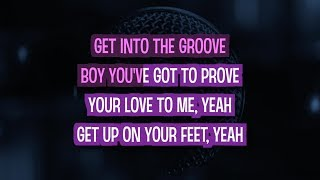 Into The Groove Karaoke Version by Madonna (Video with Lyrics) Mp3