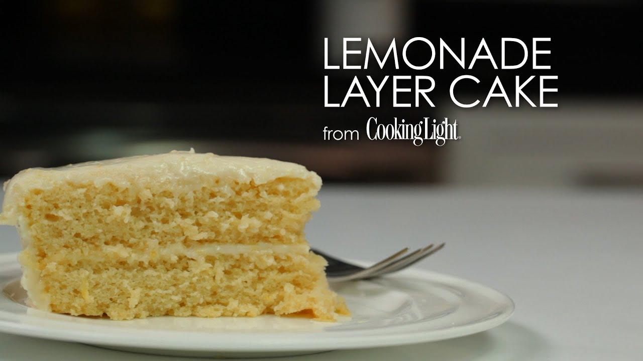 How to Make Easy Lemonade Layer Cake | MyRecipes - YouTube