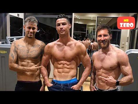 Khám phá chế độ ăn uống luyện tập của Ronaldo Messi Neymar