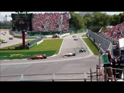GP F1 Canada 2013 - Montréal - Course F1 - Tribune 15