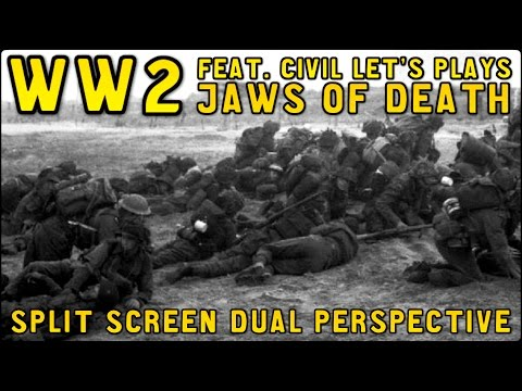 Project Reality WW2 - Jaws of Death Feat. Civil Let's Plays