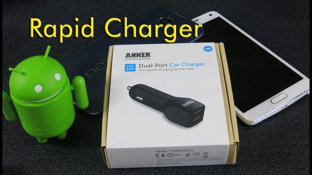 Anker Rapid Car Charger Youtube