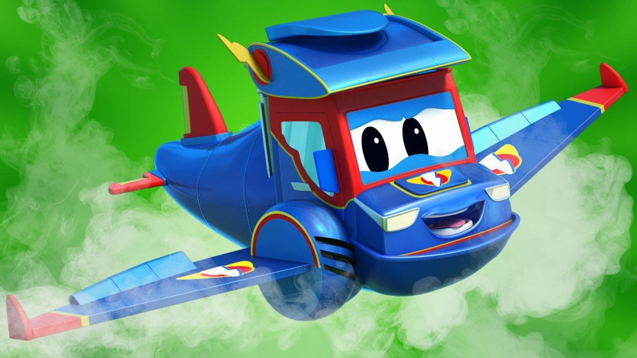 Phim hoạt hình về xe tải dành cho thiếu nhi –  TÊN LỬA nhí bị kẹt trong vòng lửa – Thành phố xe hơi