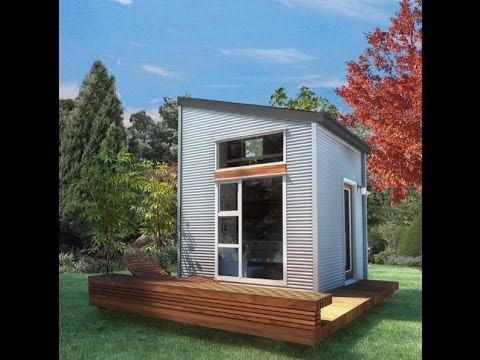 100 Sq. Ft. Nomad Micro House: Could You Live This Small? - Youtube