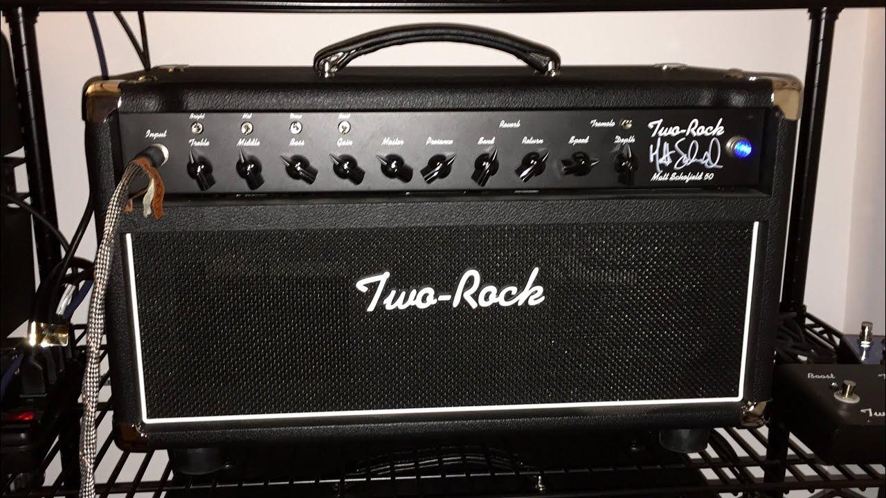 two rock matt schofield sig guitar amp demo 20150810 youtube. Black Bedroom Furniture Sets. Home Design Ideas