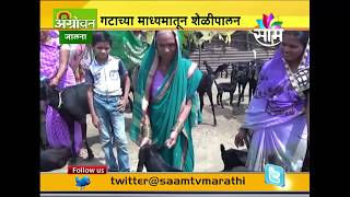 Jalna based Hirakani group goat farming