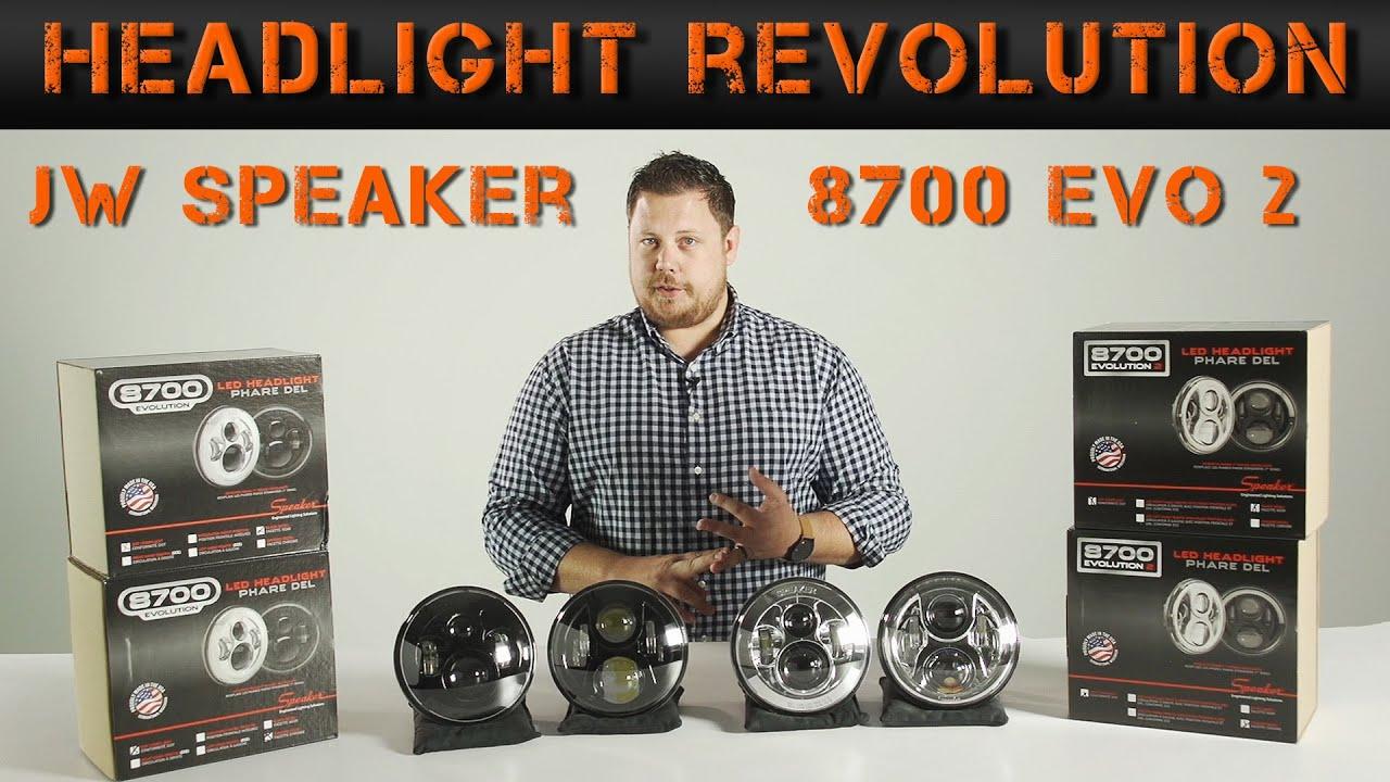 Jw Speaker 8700 Evolution 2 Review Headlight Revolution