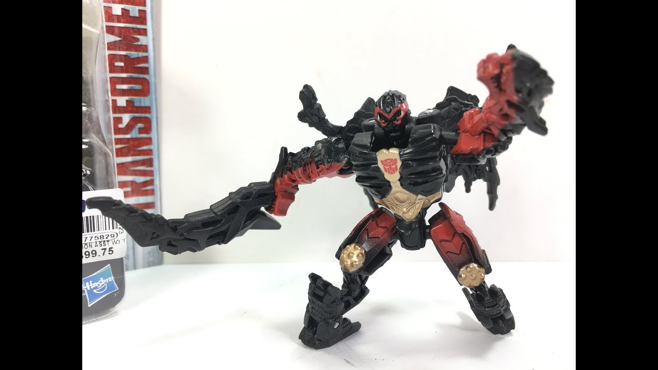 Transformers The Last Knight Legion Dragonstorm Chefatron Toy Review