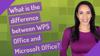 What is the difference between WPS Office and Microsoft Office? screenshot 5