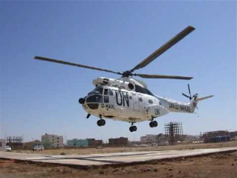 SA330 Helicopters Sudan 2007