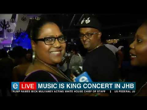 Music is King concert is happening in JHB