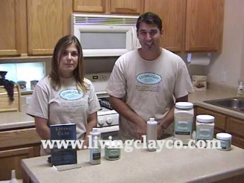 How To Mix Living Clay Detox Powder Into A Liquid Form
