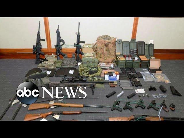 Coast Guard lieutenant's mass attack plan thwarted