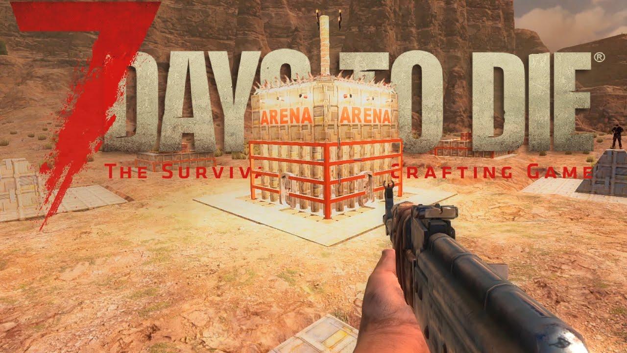 7 DAYS TO DIE Alpha 18 German #16 Arenakampf