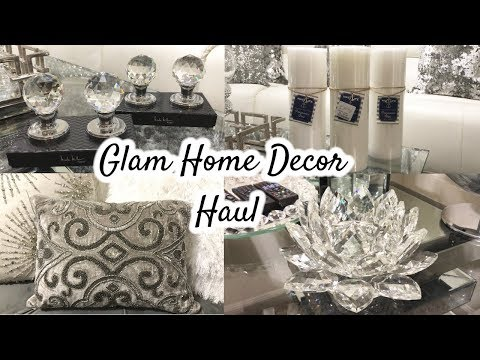 Glam Home Decor Haul | HomeGoods Haul + GIVEAWAY (Closed)