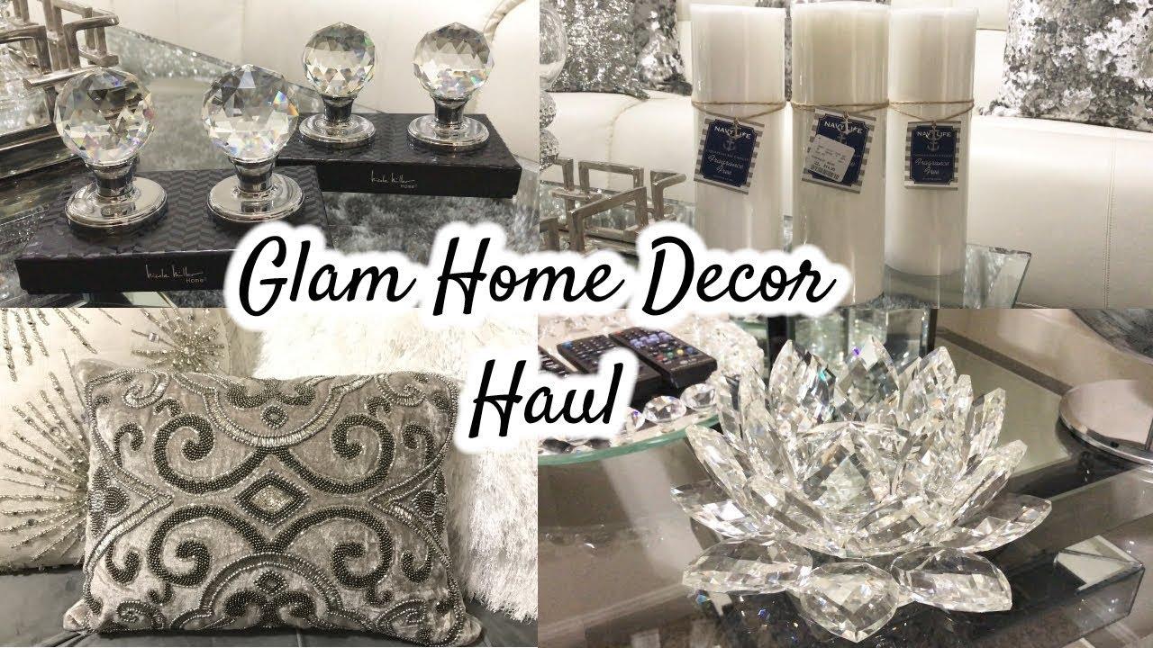 glam home decor haul | homegoods haul + giveaway! - youtube