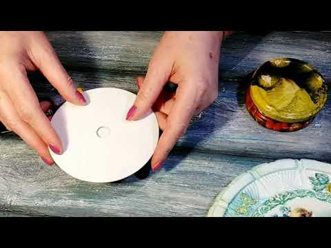 Подставка для украшения торта вращающаяся своими руками