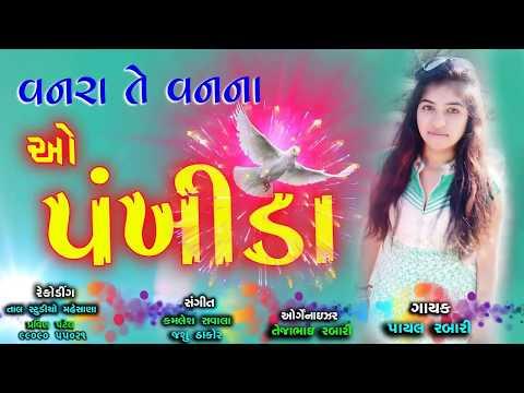 ગુજરાતી નવું ગીત 2017 | વનરાંતે વન ના ઓ પંખીડા | Payal Rabari | Gujarati New Song 2017
