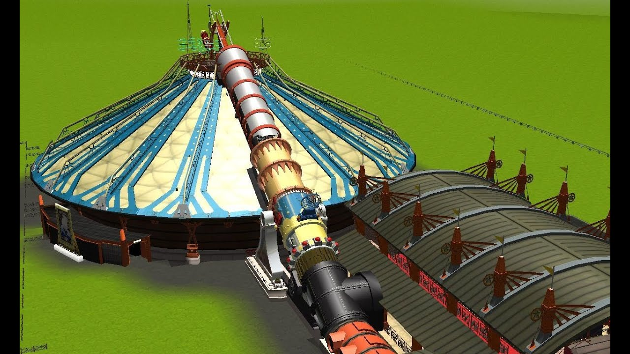 Space Mountain : Mission 2 Rct3 - YouTube