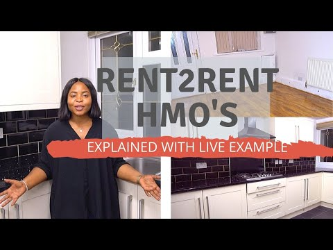 HOW TO GET RENT TO RENT HMO'S - Explained With Live Example!