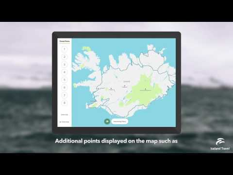 Iceland Travel Companion App - Exclusive for Iceland Travel Customers
