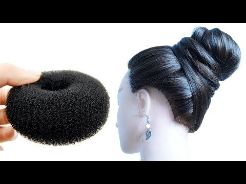 new-easy-bun-hairstyle-for-medium-to-long-hair-|-very-easy-hairstyles-medium-hair-|-new-juda-style