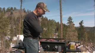Mesquite Elk (venison) Burgers In The Mountains
