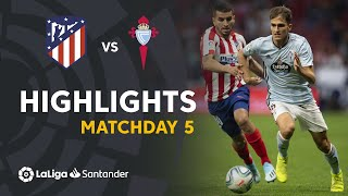 Highlights Atletico Madrid vs RC Celta (0-0)