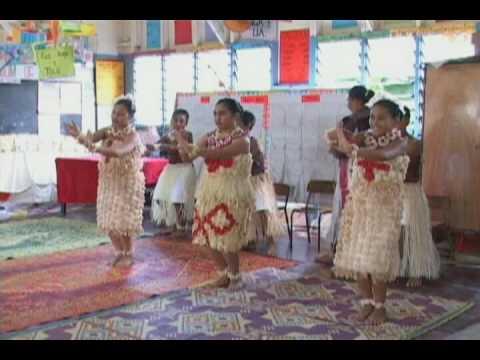 Tongan Cultural Dance Pratice 1