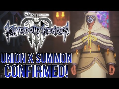 Kingdom Hearts 3 - Union X Character Confirmed To Be A Summon!