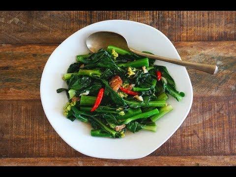 Stir-Fried Gai Lan With Salted Fish