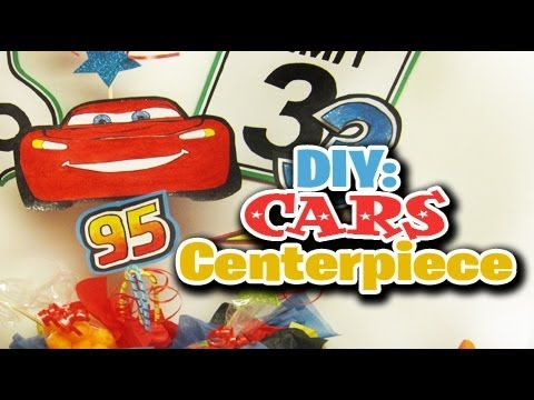 Diy cars centerpiece youtube solutioingenieria Image collections