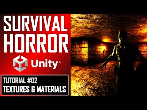 How To Make A Survival Horror Game In Unity – Beginner Tutorial Part 002 – Textures