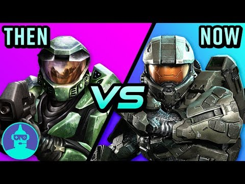 Halo - Then vs. Now (From Combat Evolved to Guardians) | The Leaderboard