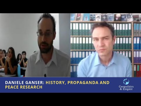 Daniele Ganser: History, Propaganda and Peace Research [Deut