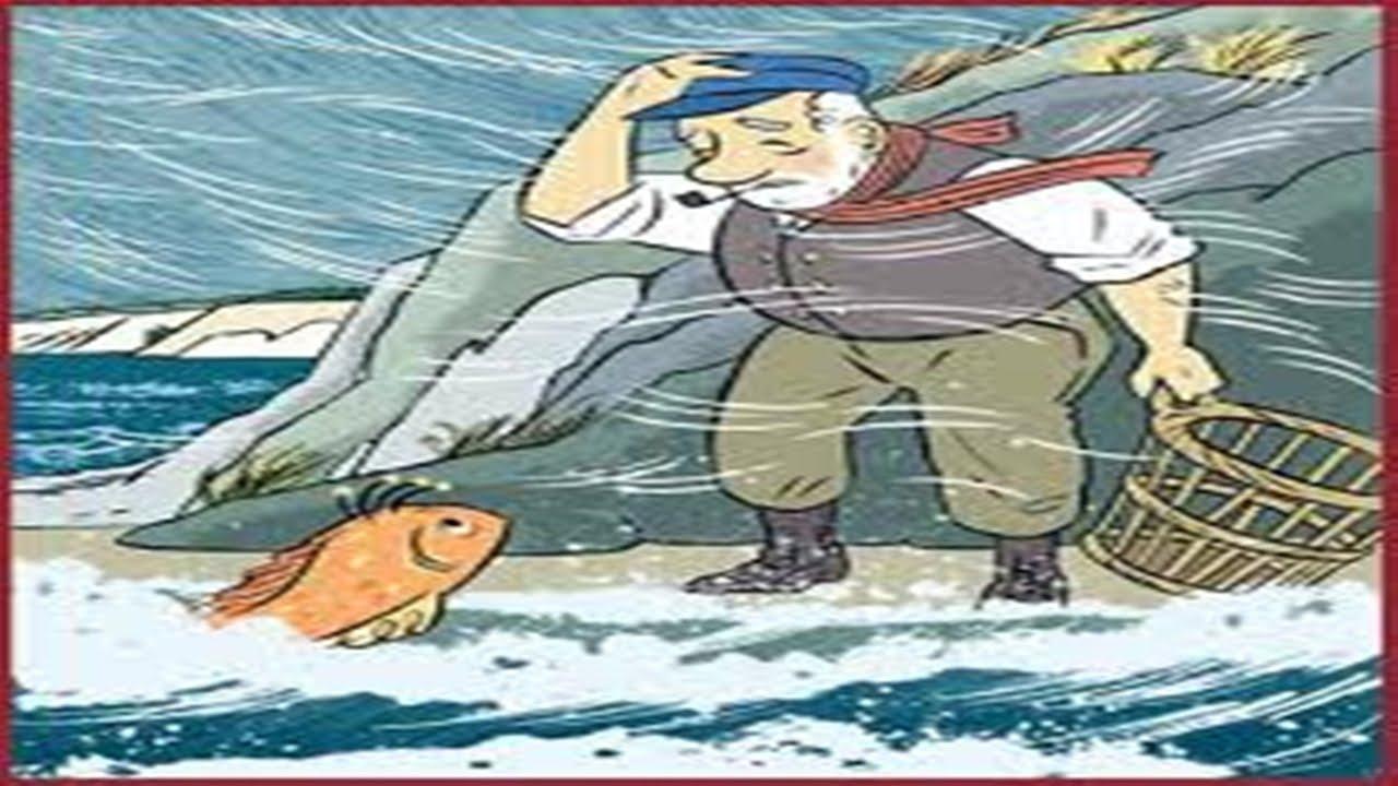 Gambar Nelayan Dan Ikan Mas Dongeng Ikan Mas Dan Nelayan Youtube