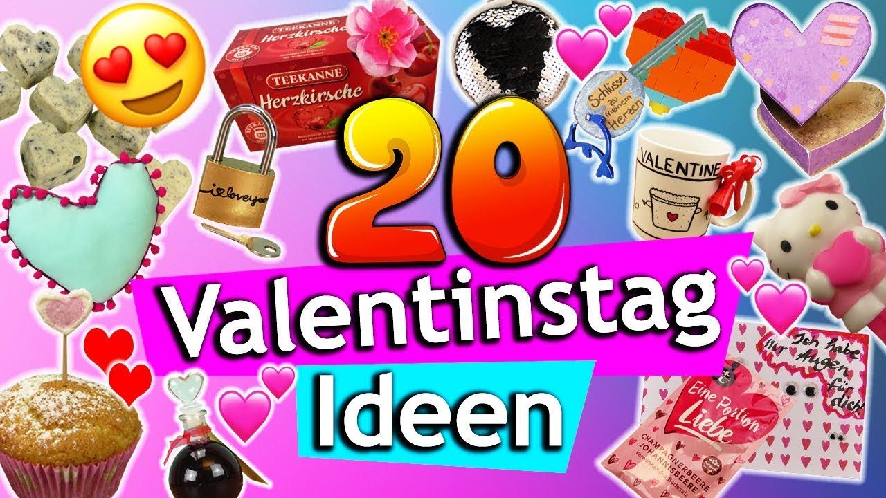 20 VALENTINSTAG DIY Ideen  einfach, günstig & süß