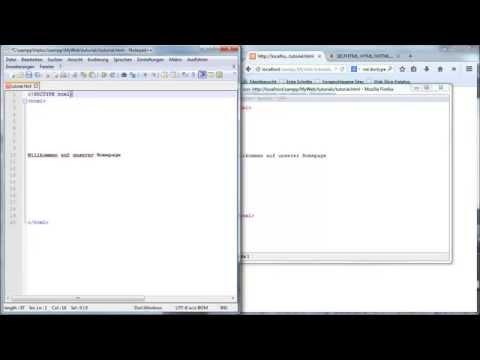 Webseiten Selber Schreiben Part 1 - HTML-Grundgerüst & Sprachen