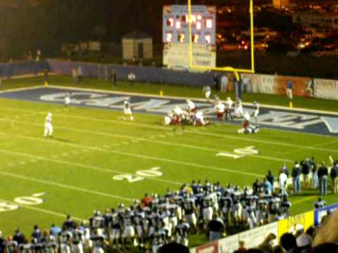 Camden County High School Wildcats vs. Lowndes County Vikings 2009 2nd playoff pt3of3